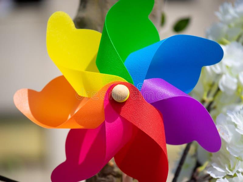 Carousel цветов стоковое изображение