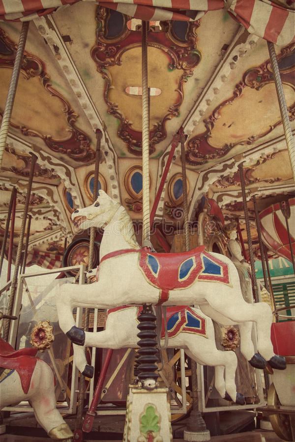 Download Carousel stock image. Image of merry, amusement, green - 26311295