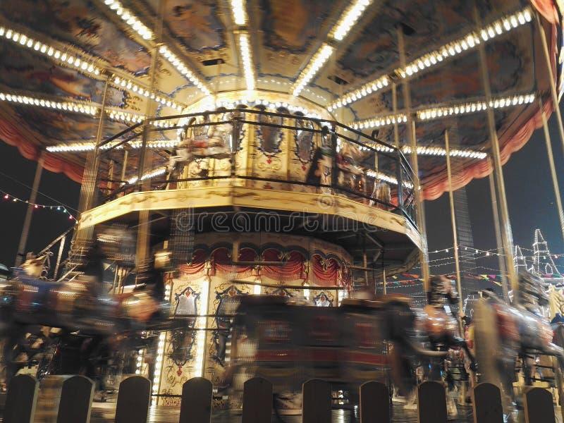 carousel fotografia stock
