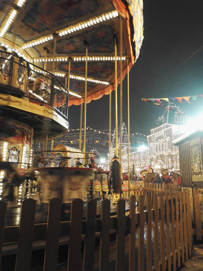 carousel zdjęcia stock
