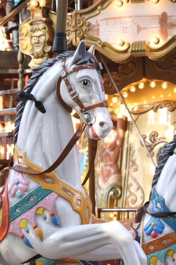 carousel стоковое изображение rf