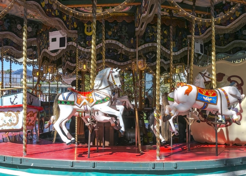 Download Carousel stock photo. Image of ride, carousels, round - 34151228