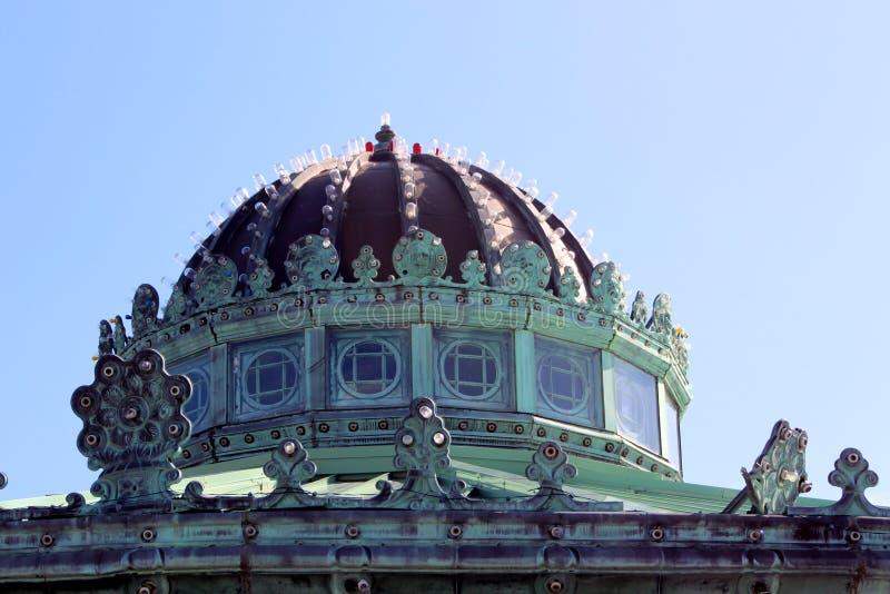 Carousel Asbury Domowy Parkowy Nowy - bydło obraz stock