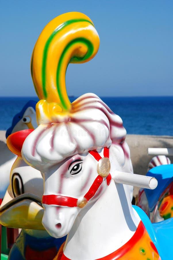 Download Carousel horse stock image. Image of amusement, fair - 15278887