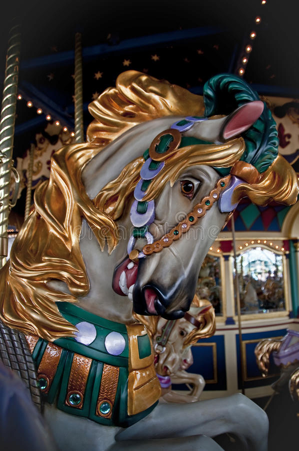 Download Carousel Horse stock photo. Image of horse, animal, carousel - 26839314
