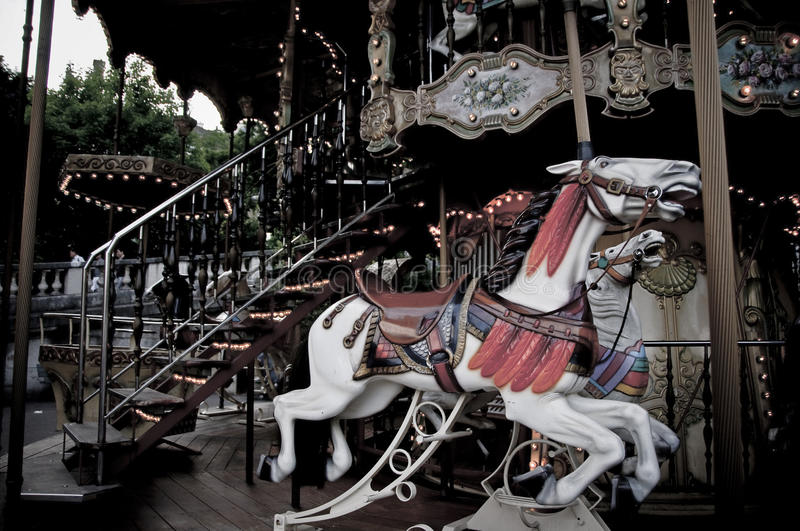Download Carousel Horse stock image. Image of carousel, ornate - 26840483