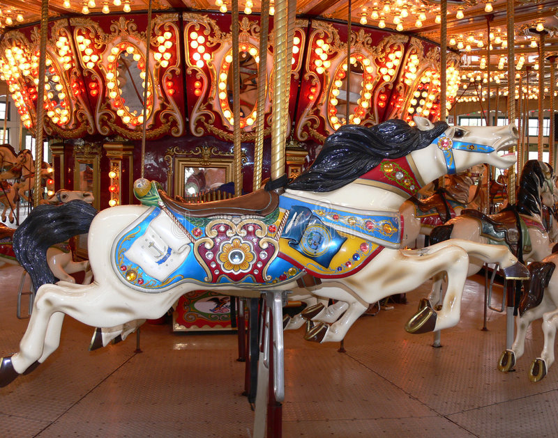 Download Carousel Horse stock image. Image of amusements, fairground - 3982095