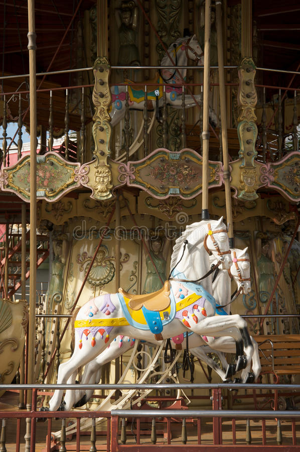 Free Carousel Horses Royalty Free Stock Images - 12924929