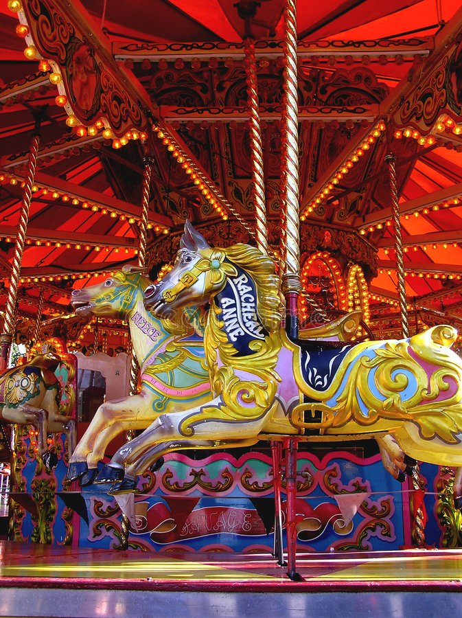 Carousel Merry Go Round For Children