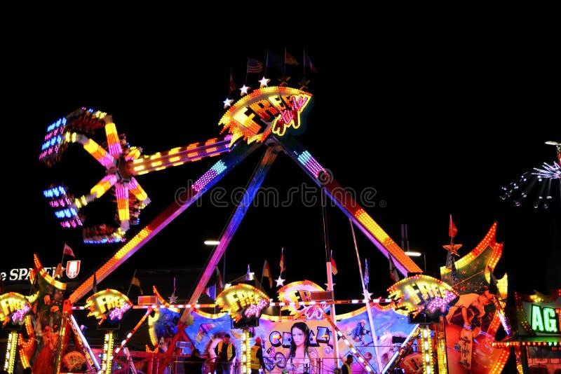 Carousell em Oktoberfest fotos de stock