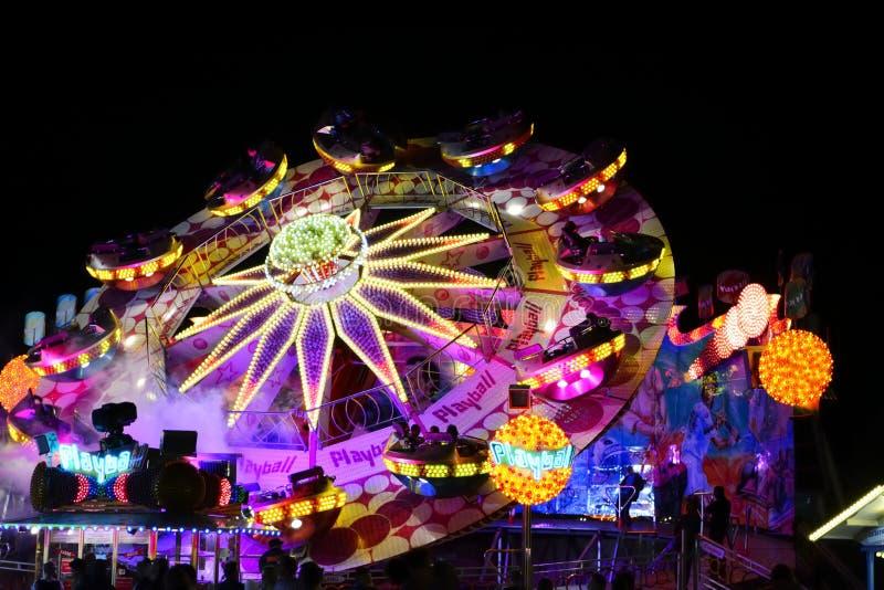 Carousell em Oktoberfest fotografia de stock