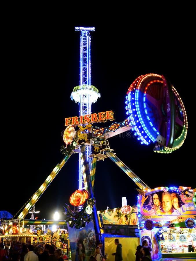 Carousell em Oktoberfest imagens de stock royalty free