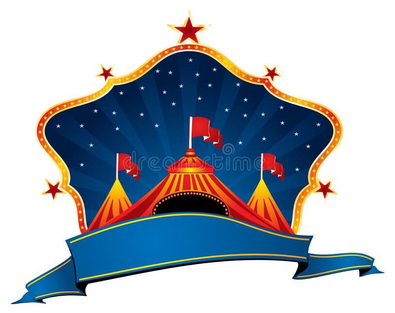 Carpa del circo ilustración del vector