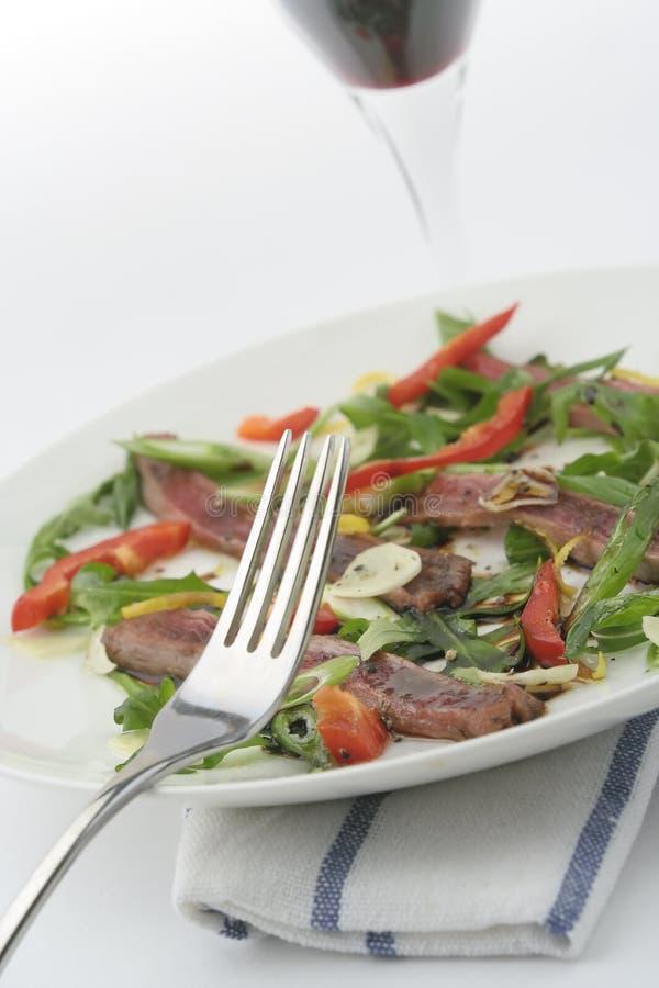 carpaccio βόειου κρέατος στοκ εικόνες
