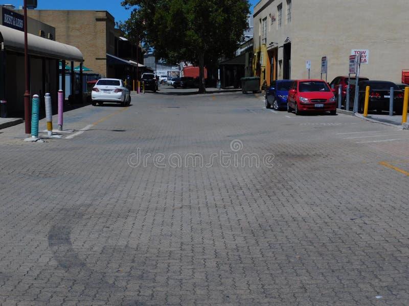 Carpark σε Fremantle, Περθ, δυτική Αυστραλία, Αυστραλία στοκ φωτογραφίες με δικαίωμα ελεύθερης χρήσης