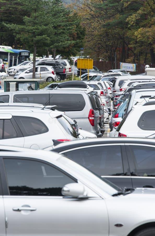 Download Carpark editorial stock image. Image of korea, outdoor - 27511554