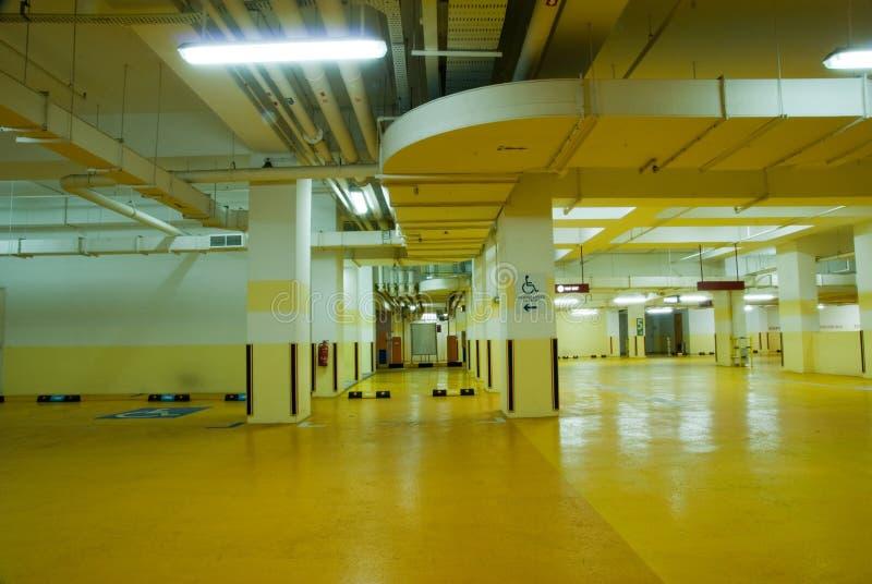 Download Carpark Interior stock photo. Image of passage, construction - 8917784