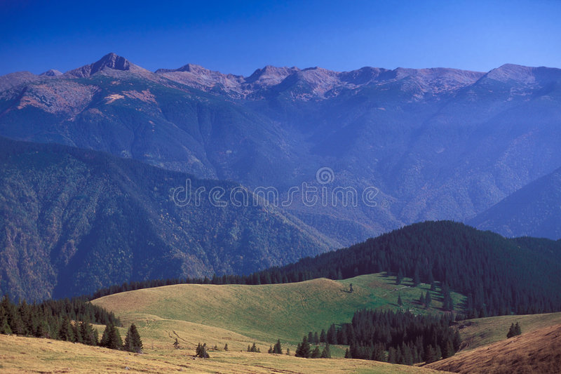 Carpathian Autumn. Autumn in Retezat Mountains, Southern Carpathians, Romania stock photography