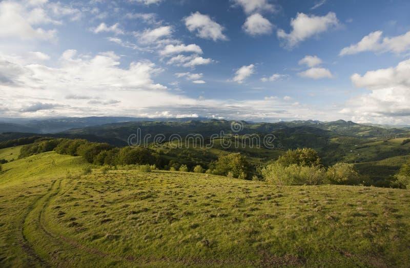 Carpathian berg royaltyfria bilder