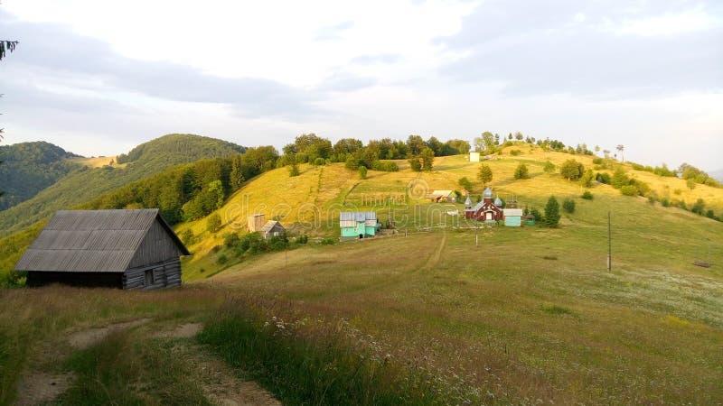 Carpathian Chornohora royaltyfria bilder