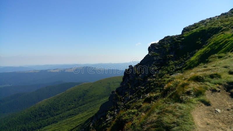 Carpathian Chornohora royaltyfri foto