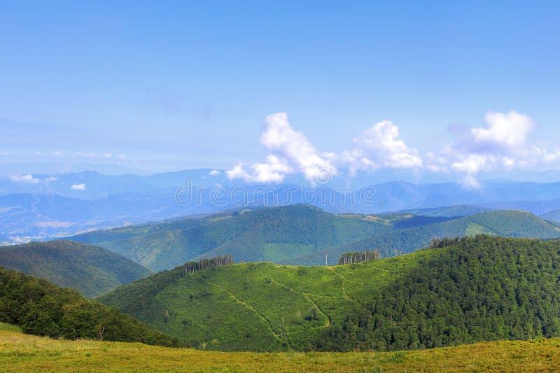 Carpathian kanter royaltyfria foton