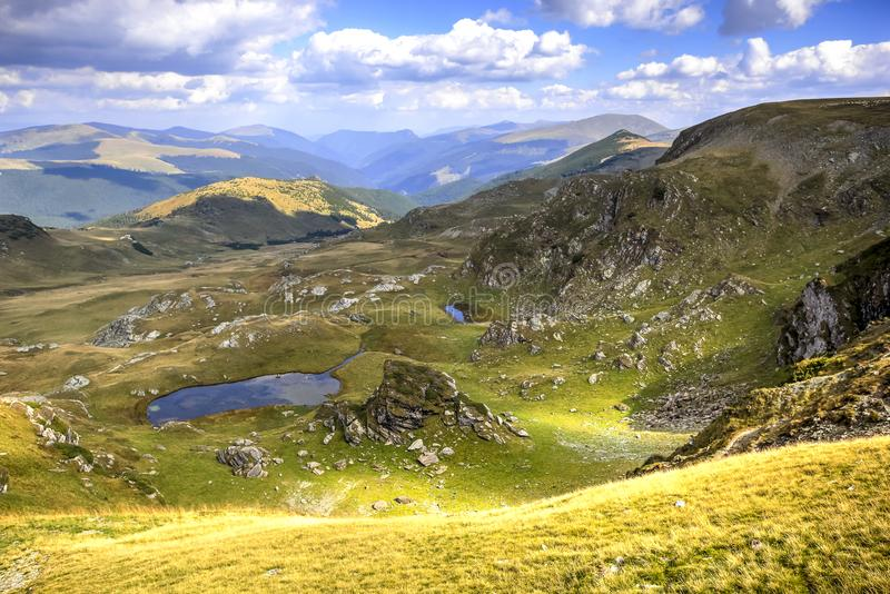 The Carpathian Mountains, Romania royalty free stock photography