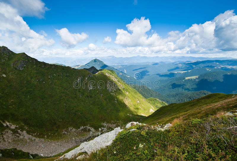 Download Carpathian Mountains In Ukraine Stock Image - Image: 22254321