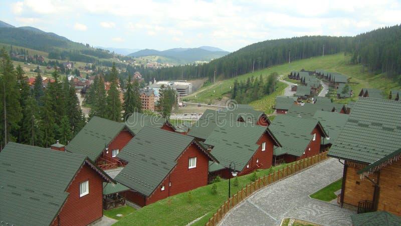 carpathian najlepszy widok góry obrazy stock