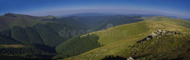 Carpathians τοπίο στοκ φωτογραφία