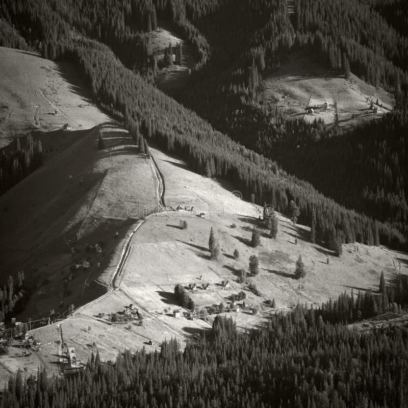 carpathians χωριό στοκ φωτογραφίες με δικαίωμα ελεύθερης χρήσης