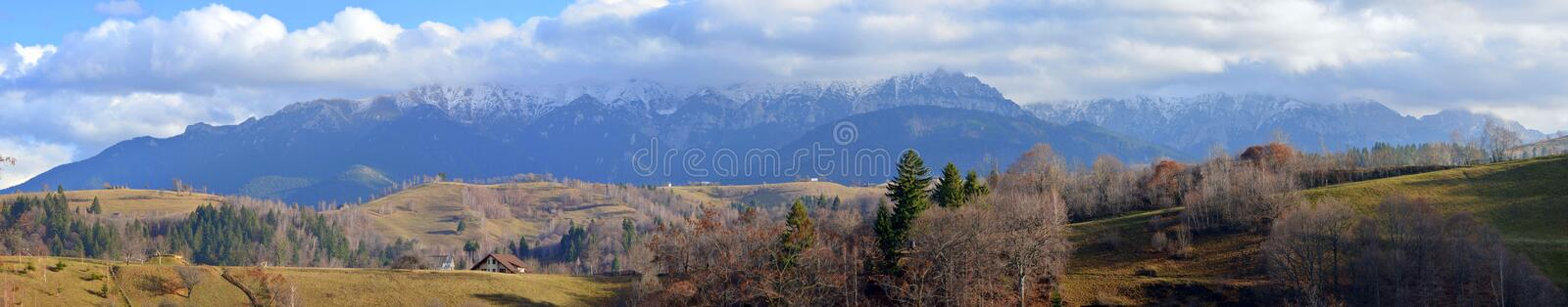 Carpathians mountains royalty free stock images
