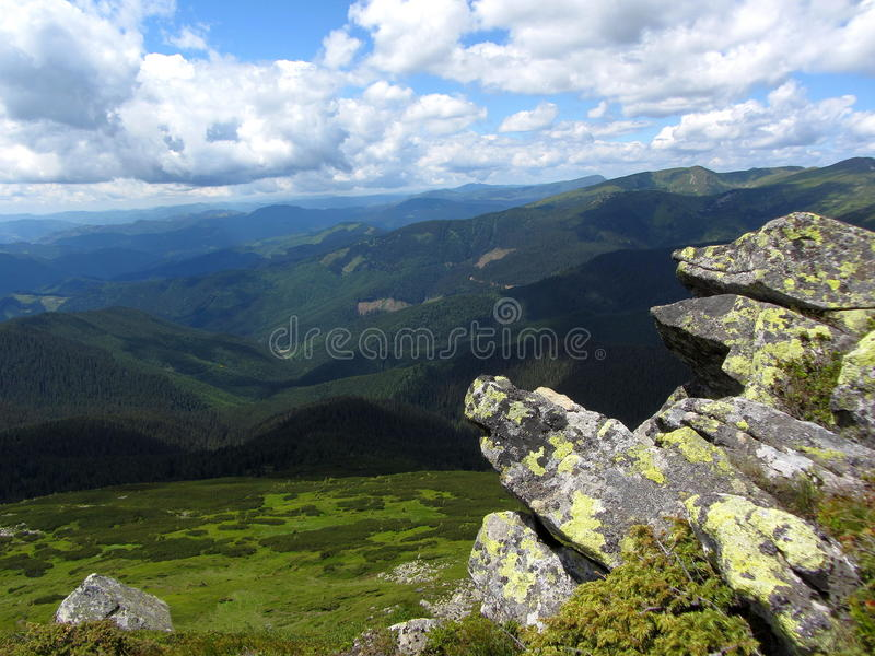 Carpathians royalty free stock images
