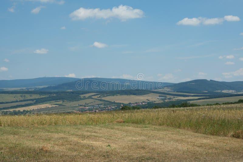 Carpathien blanc, Moravie, République Tchèque photos libres de droits