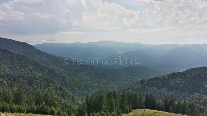 Carpatian山 免版税图库摄影