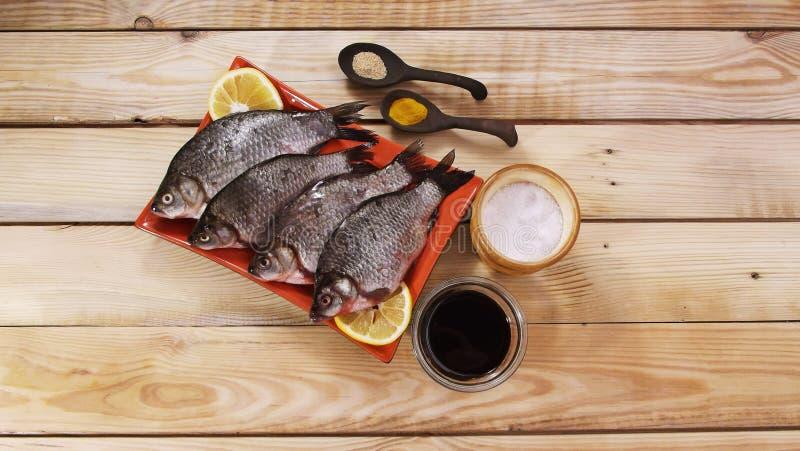 Carpe de poissons images libres de droits