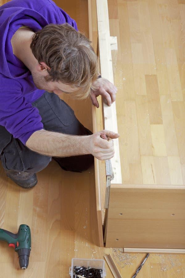 Free Carpenter At Work Royalty Free Stock Image - 22921446
