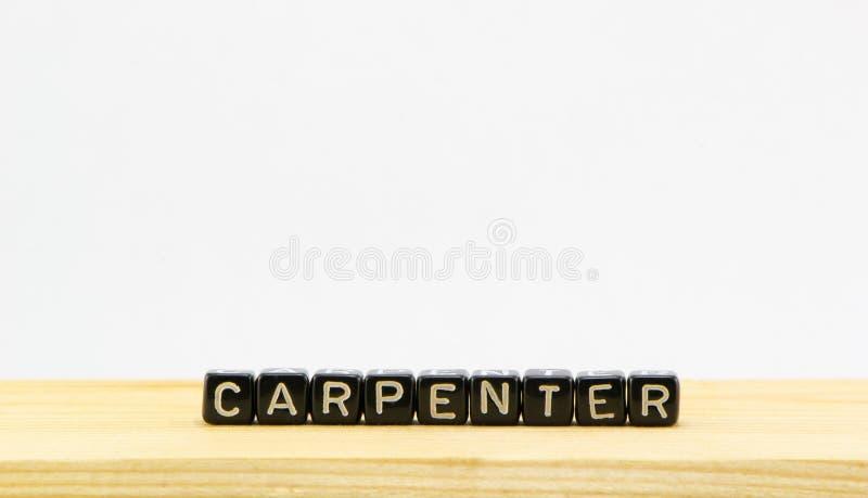 Carpenter. The concept of a carpenter royalty free stock photos