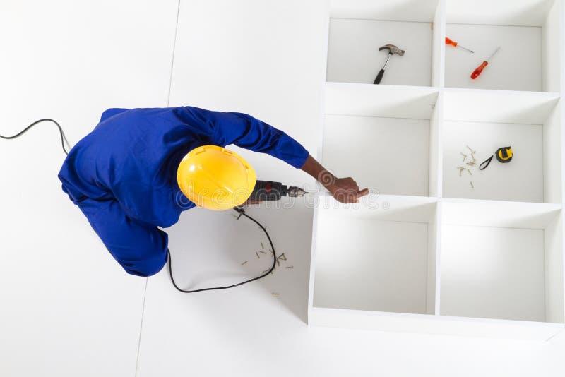 Download Carpenter Making Furniture Royalty Free Stock Photos - Image: 15365738