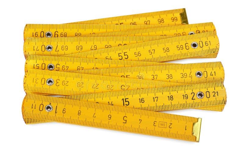 Carpenter's ruler stock images