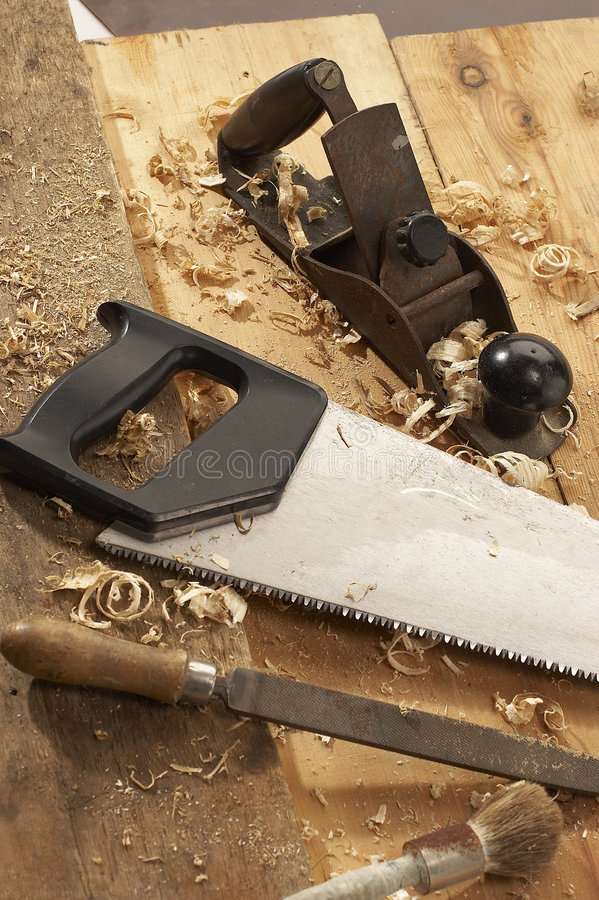 Download Carpenter's Tools Stock Image - Image: 1308981