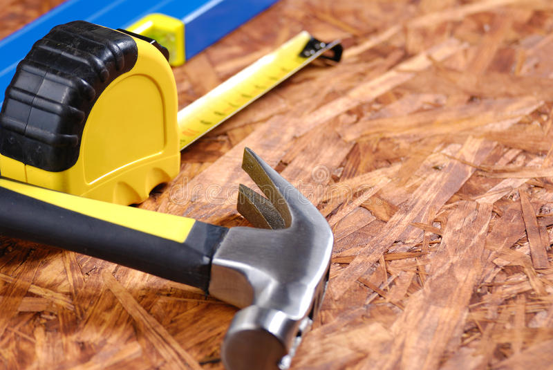 Download Carpenter tools stock image. Image of hand, carpentry - 18861049