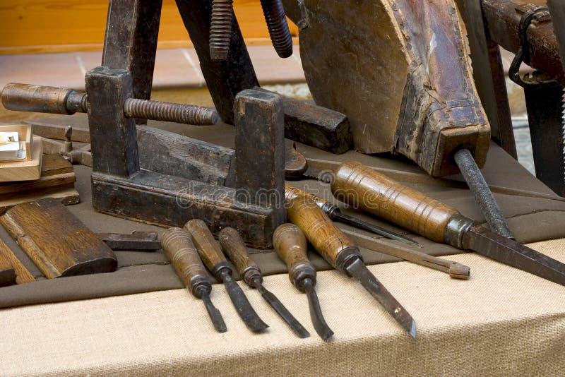 Carpenter tools stock image