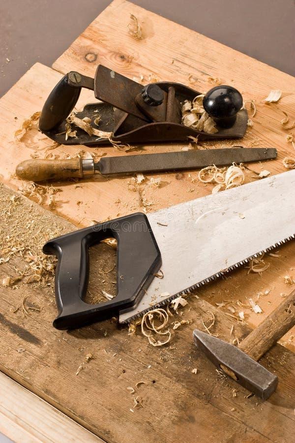 Carpenters tool royalty free stock image