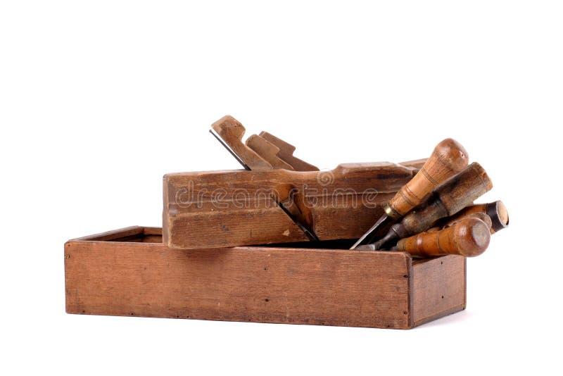 Carpenters tools stock photos