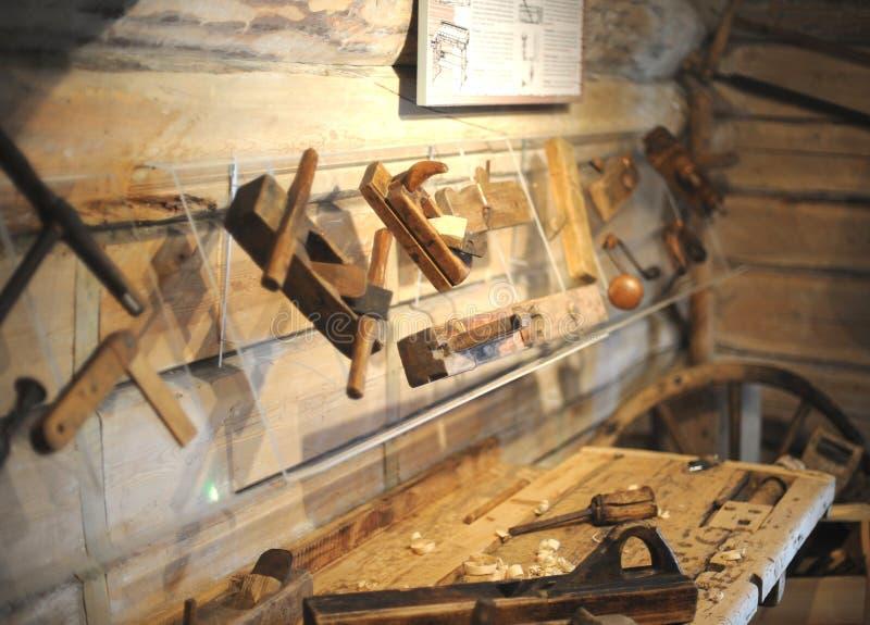 Carpentiere Tools immagine stock libera da diritti