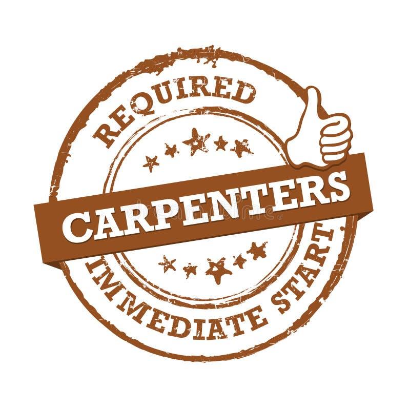 Carpentieri richiesti - stampabile identificato royalty illustrazione gratis