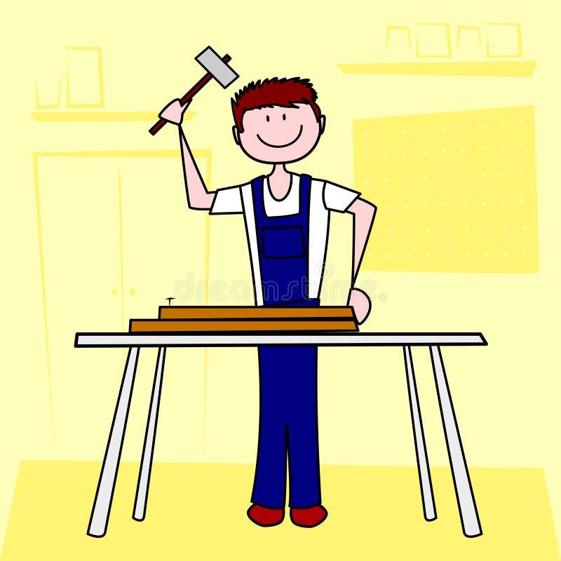 carpentry stock illustrationer