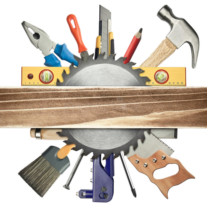Free Carpentry Background Royalty Free Stock Photography - 22476057
