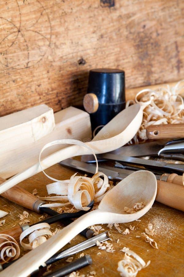 Carpentry tools - still life royalty free stock photos